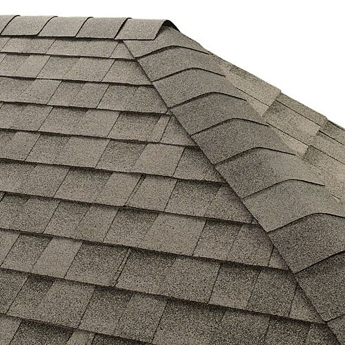 GAF Seal-A-Ridge Birchwood Hip and Ridge Cap Roofing Shingles (25 lin. ft. per Bundle) (45-pieces)