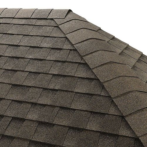 Seal-A-Ridge Canadian Driftwood Hip and Ridge Cap Roofing Shingles (25 lin. ft. per Bdl) (45-pieces)