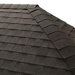 Seal-A-Ridge Charcoal Hip and Ridge Cap Roofing Shingles (25 lin. ft. per Bundle) (45-pieces)