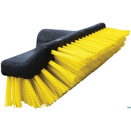 10-inch Waterflow Bi-Level Deck Scrub Brush