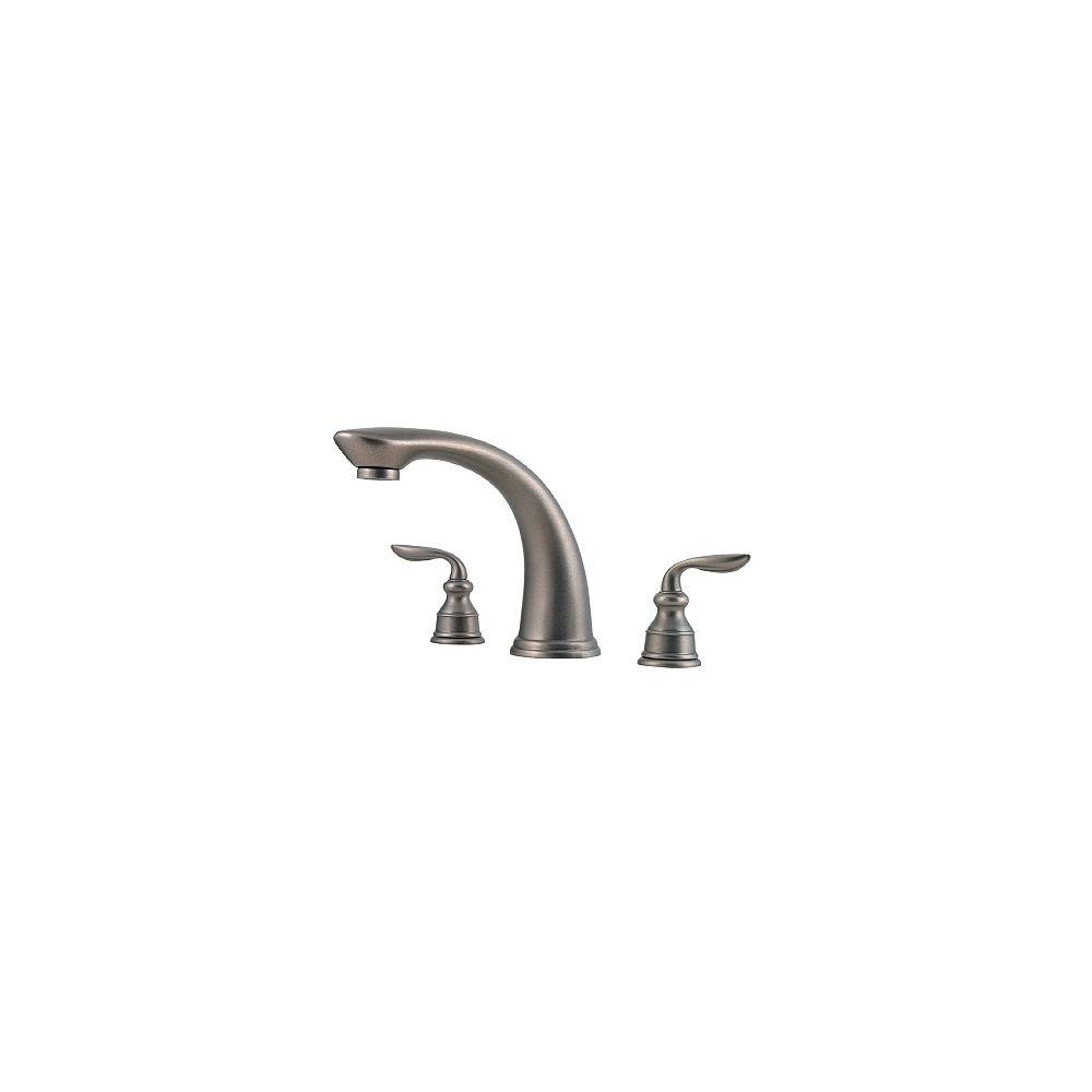 Pfister Ensemble de robinetterie pour baignoire romaine Avalon - Étain rustique