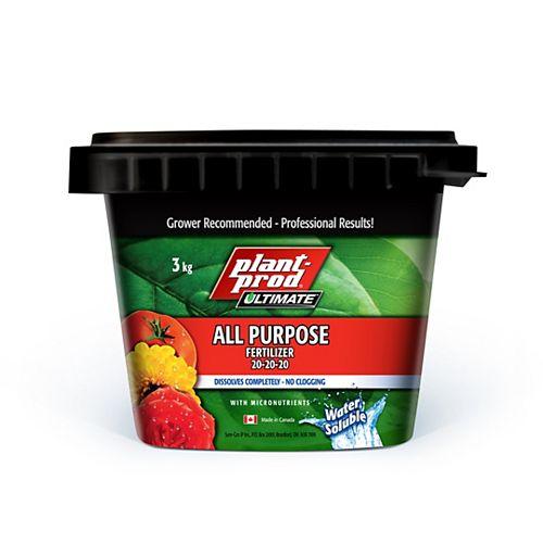 All Purpose Fertilizer 20-20-20