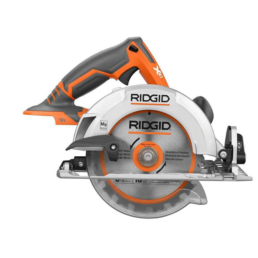 RIDGID X3 Circular Saw