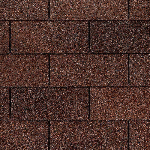 Marquis WeatherMax® Autumn Brown Laminated 3-Tab Roof Shingles (33.3 sq. ft. per Bundle)