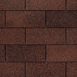 Marquis WeatherMax® Autumn Brown Laminated 3-Tab Roof Shingles (33.3 sq. ft. per Bundle)