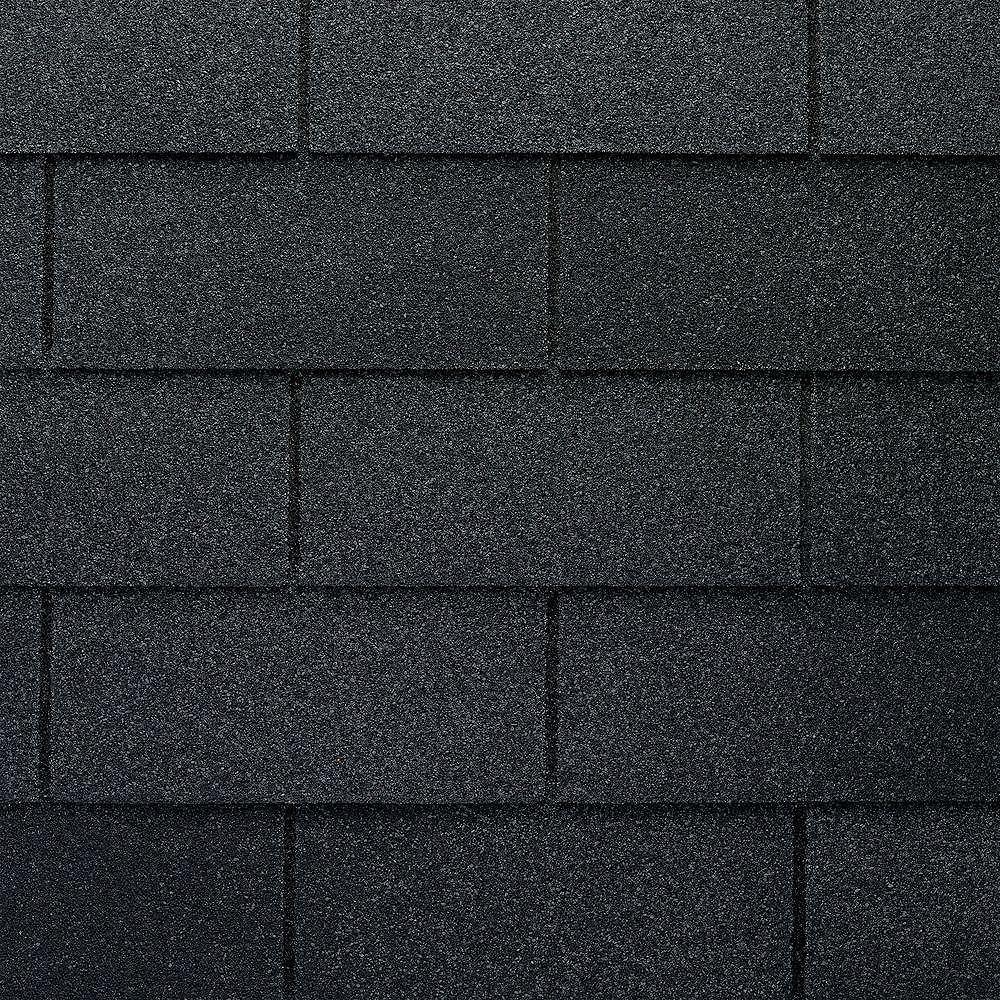 GAF Bardeaux de toit WeatherMax® Marquis WeatherMax® laminés au charbon de bois à 3 languettes (33,3 pi2 par paquet)
