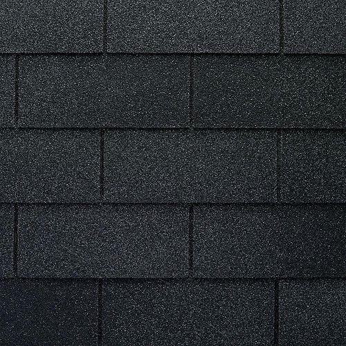 Marquis WeatherMax® Charcoal Laminated 3-Tab Roof Shingles (33.3 sq. ft. per Bundle)