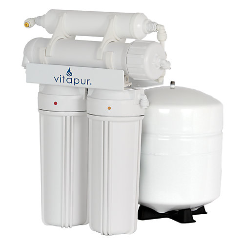 4-Stage Reverse Osmosis Water Treatment System