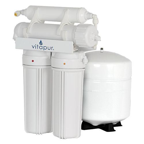 Système de traitement de l'eau à osmose inverse à 4 étapes Vitapur