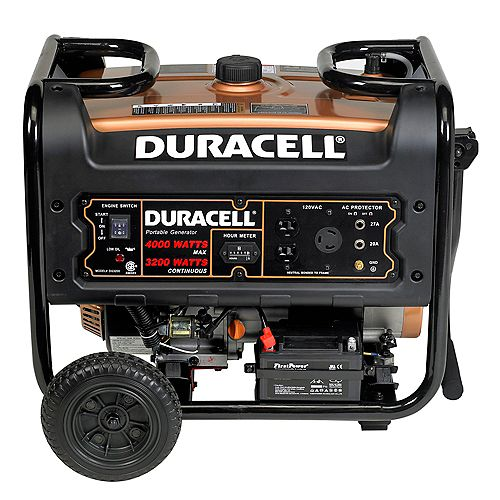 Duracell 3200Watt Portable Generator