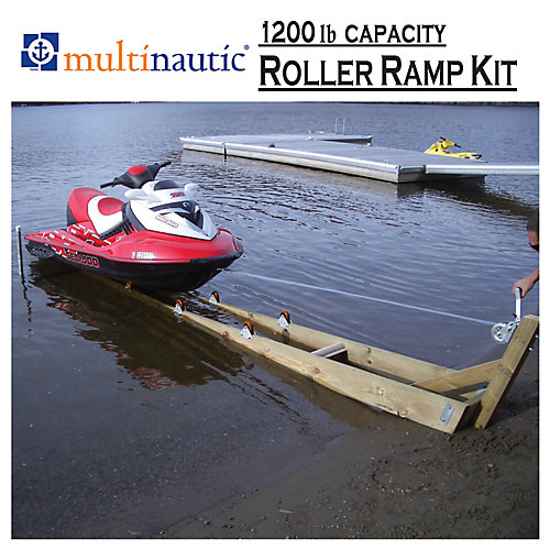 1,200 lbs. Capacity Ramp Kit for Small Watercraft