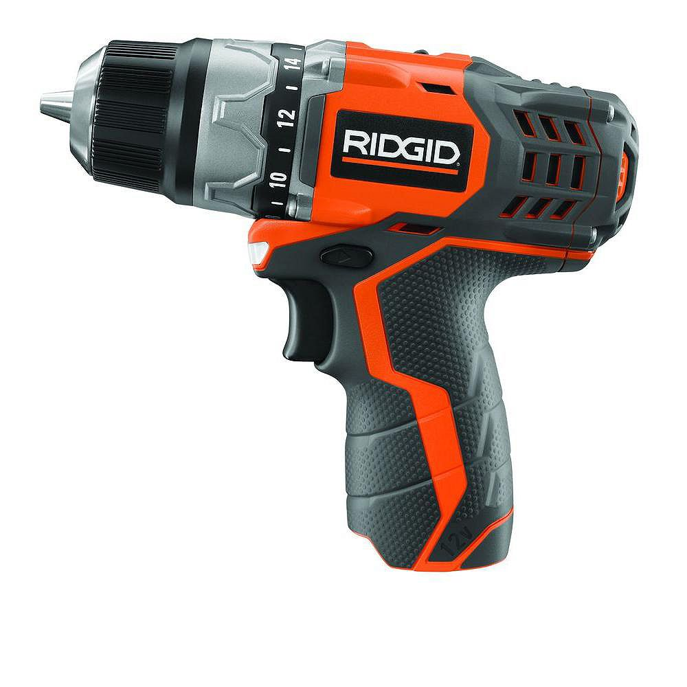 RIDGID 12V Lithium-Ion Compact Drill Console
