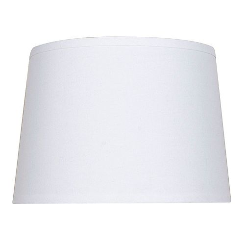 Mix and Match 14 inch x 10 inch Cream Round Table Lamp Shade
