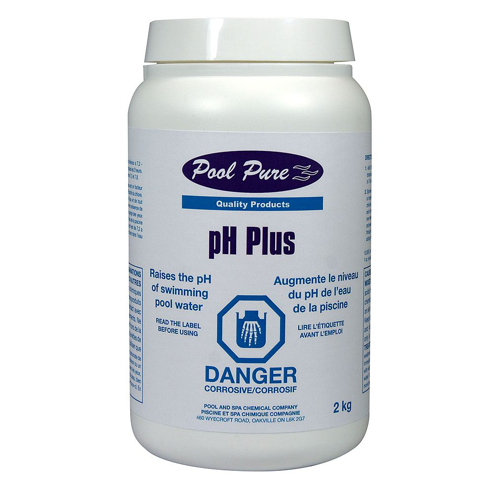 Pool Pure Ph Plus 2 Kg The Home Depot Canada