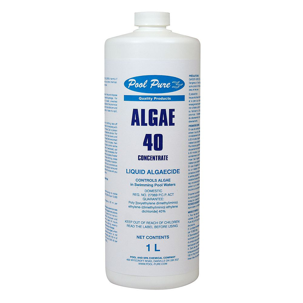 Pool Pure Algi 40 - 1 Litre