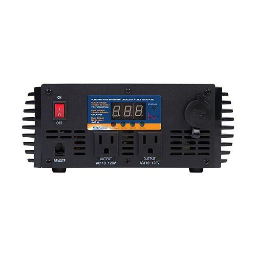 Onduleur à onde sinusoïdale pure Pro Series, 1 000 watts