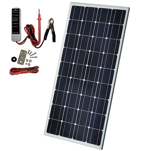 85W Crystalline Solar Panel
