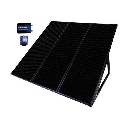 55 Watt, 12-Volt Solar Power Generator Kit