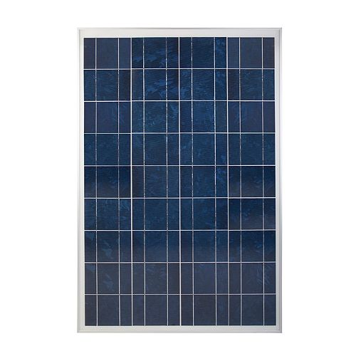 100 Watt, 12-Volt Crystalline Solar Panel