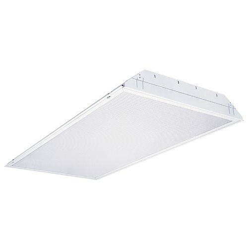 2 ft. x 4 ft. 32W 3-Light T8 Lay In Troffer