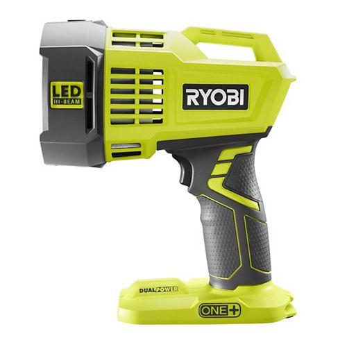 RYOBI 18V ONE+ Cordless Dual Power LED Spotlight