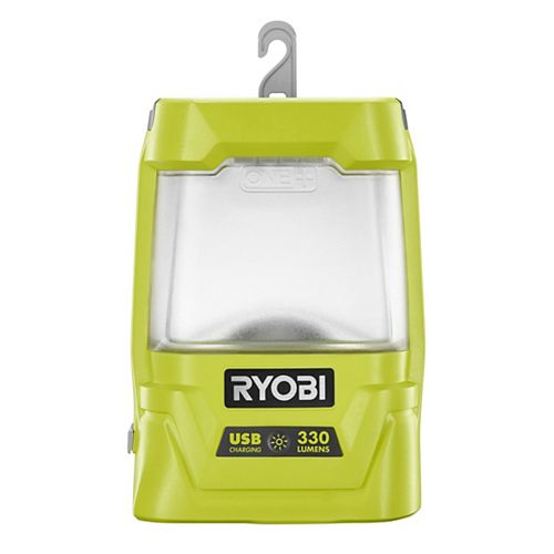 RYOBI 18V ONE+ Cordless Area Light with USB Charger (Tool Only)