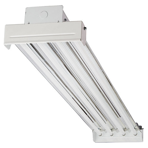 IBC 454 MV 4-Light T5 White High Output Fluorescent High Bay