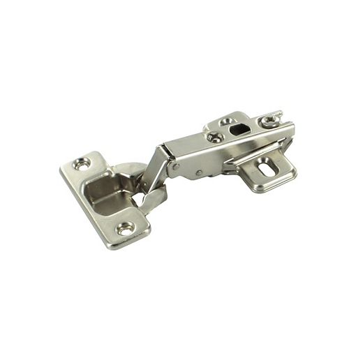 Richelieu Full Overlay Modul Hinge - 100 Degree with Plate - (10-Pack)