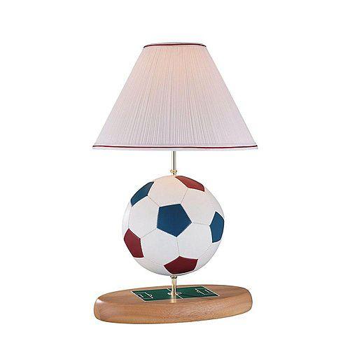 1 Table lumineuse Lampe Terminer naturelles Pleated Tissu Ombre