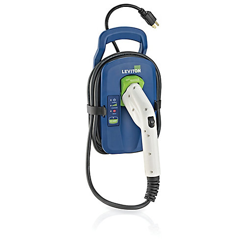 Evr-Green 12-Amp Portable Level 1 Electric Car Charger