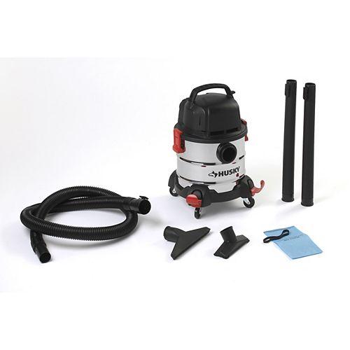 Husky 15L / 4 US G Stainless Steel Wet/Dry Vacuum