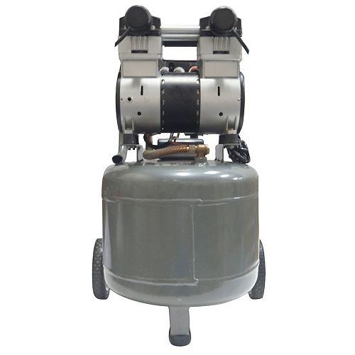 37.8L 2.0 HP Ultra Quiet and Oil-Free Electric Air Compressor