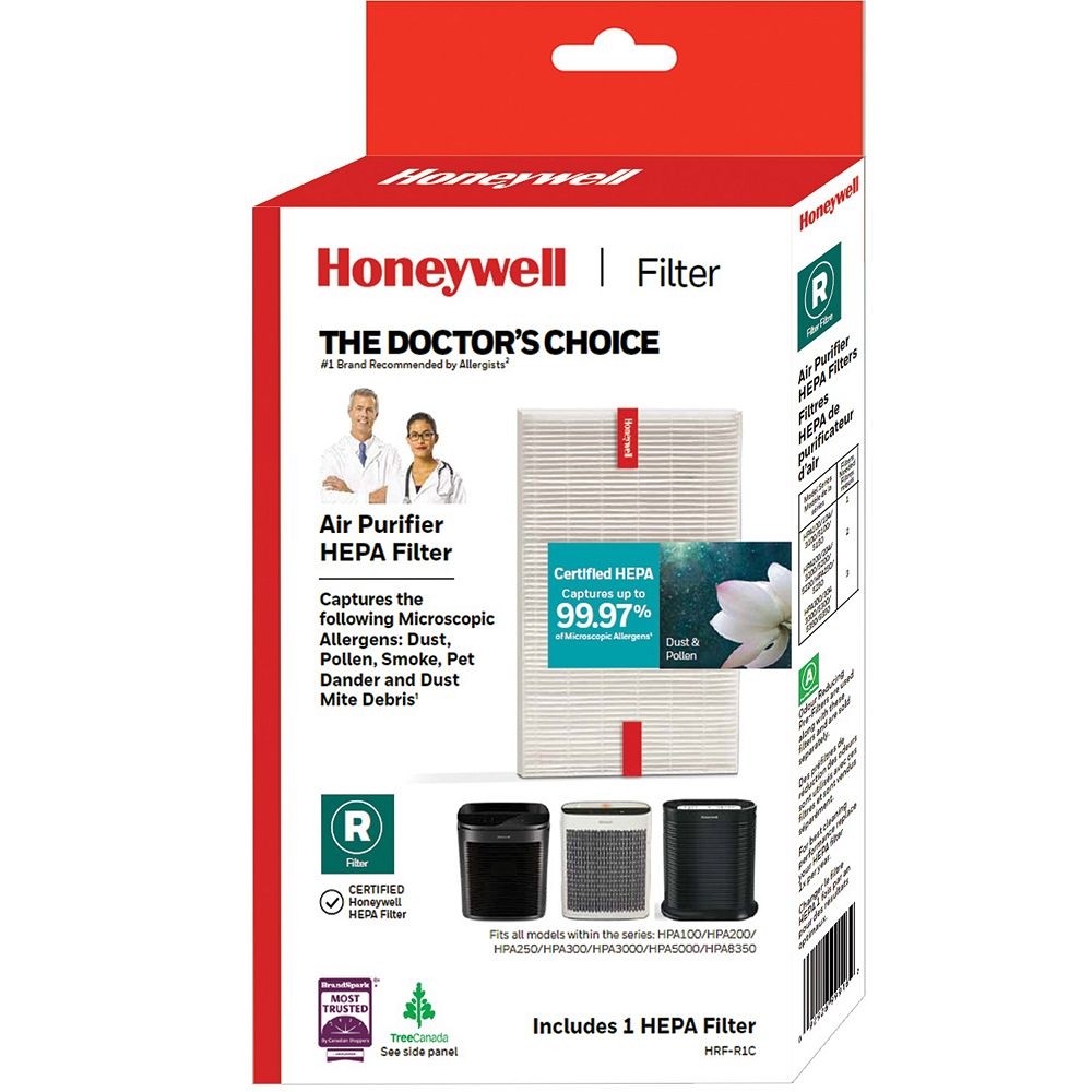 Honeywell True HEPA Replacement Filter for HPA100, HPA200, HPA300 series Air Purifiers