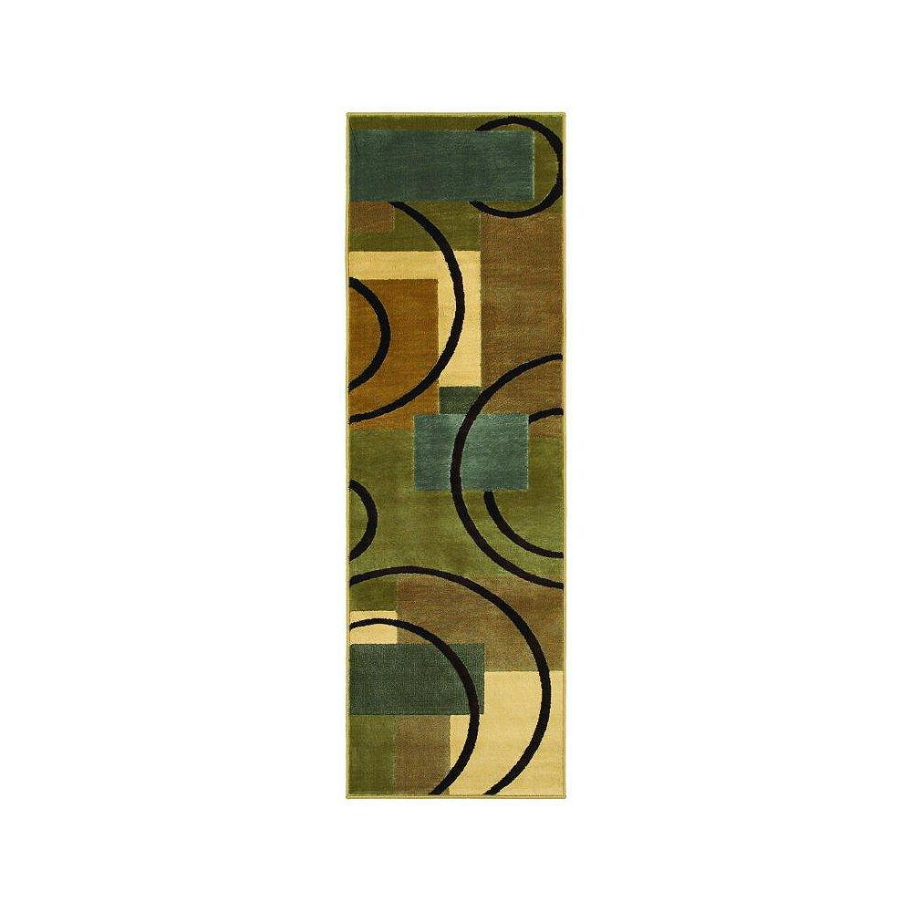 Shaw Living Contempo Multi-Colour 2 ft. 6-inch x 7 ft. 8-inch Runner