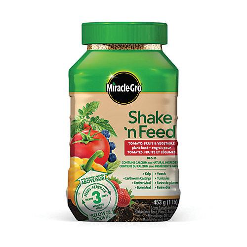 Shake N Feed Tomato, Fruits & Vegetables Plant Food 10-5-15 453g