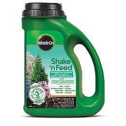 Shake N Feed engrais pour arbres et arbustes a fleurs 18-6-12 2.04 kg