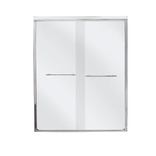 Frameless By-Pass Shower Door, BD47PS