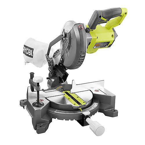 18V ONE+ Cordless 7-1/4 -inch Compound Miter Saw (Tool Only) with Blade and Blade Wrench