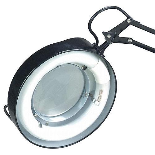 Lampe Illumine à une ampoule avec , Fini noir