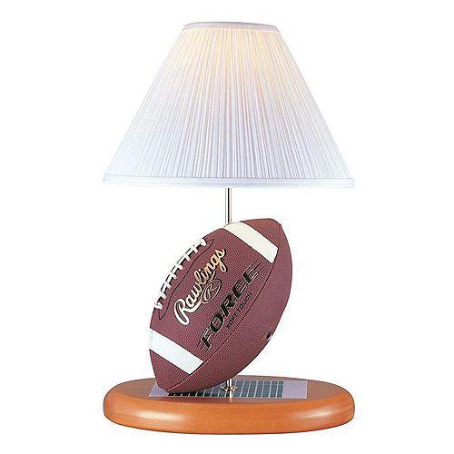Lampe à une ampoule avec abat-jour de spécialité, finition de spécialité