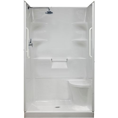 Ellis 42-Inch Acrylic Shower Wall Set