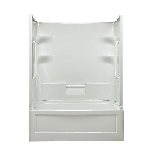 Belaire 60-inch x 78-inch x 32.5-inch 4-shelf Acrylic Tub & Shower