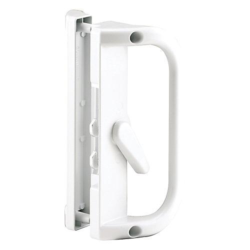 White Sliding Patio Door Handle
