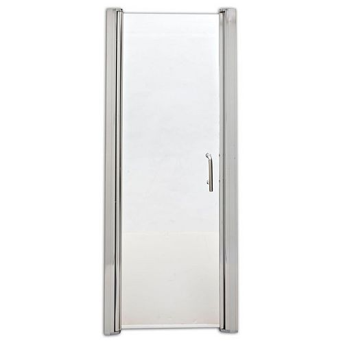 SD27PS 27.5-inch x 69-inch Frameless Rectangular Pivot/Hinged Shower Door