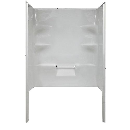 Ellis 42-Inch 3-Piece Acrylic Shower Wall Set