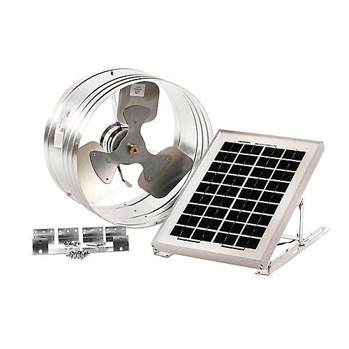 Ventilateur de Pignon Motorisé Solaire 500 CFM