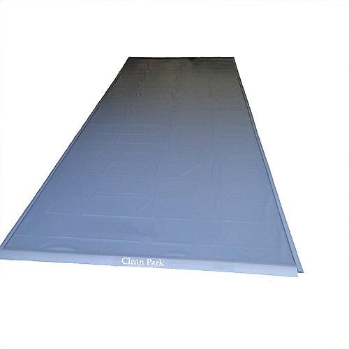 Clean Park 7.5 ft. x 18 ft. Garage Floor Mat