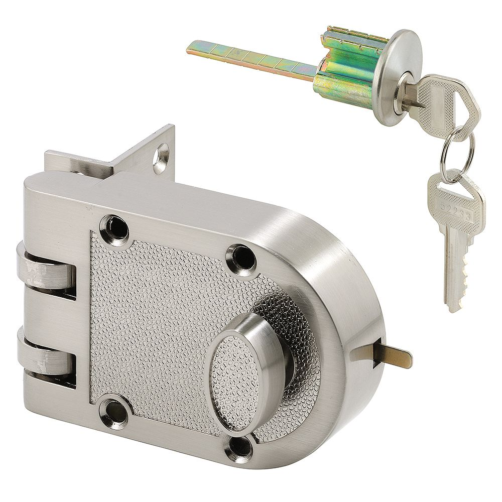 Prime-Line Diecast Brass, Night Latch and Locking Cylinder