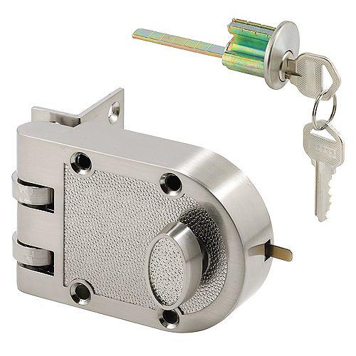 Prime-Line Diecast Brass, Night Latch and Locking Cylinder