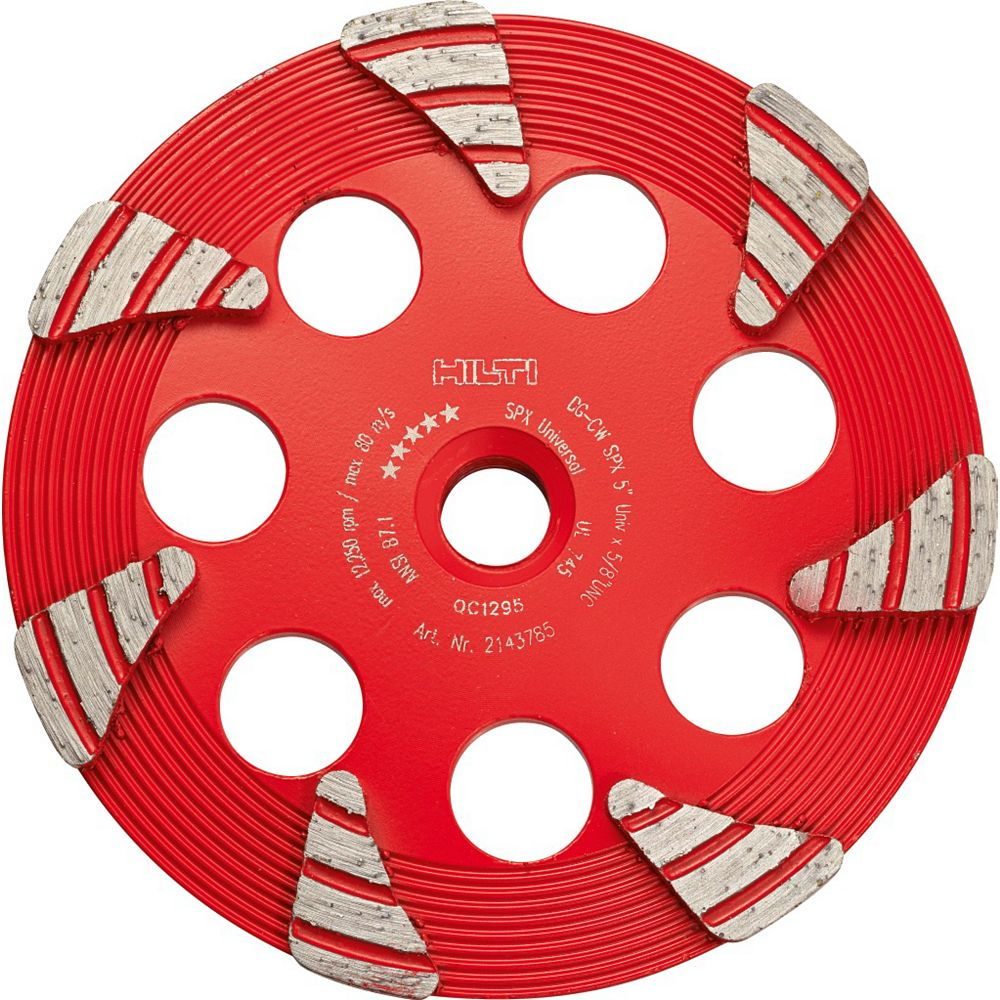 Hilti Diamond Cup Wheel For Concrete - 6 Inch